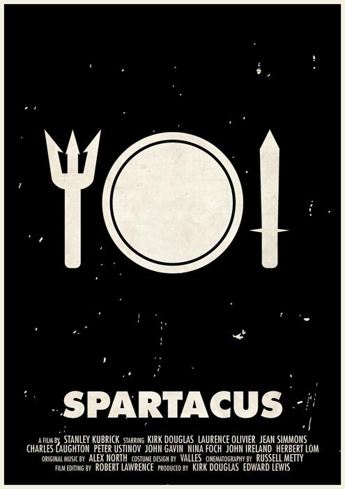stanley kubrick affiche icone 03 Affiches des films de Stanley Kubrick en pictogrammes