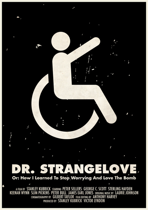 stanley kubrick affiche icone 05 Affiches des films de Stanley Kubrick en pictogrammes