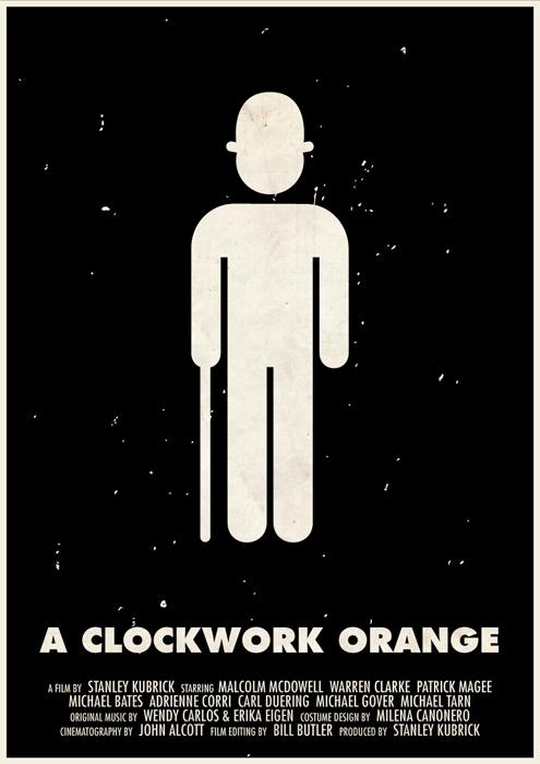stanley kubrick affiche icone 07 Affiches des films de Stanley Kubrick en pictogrammes