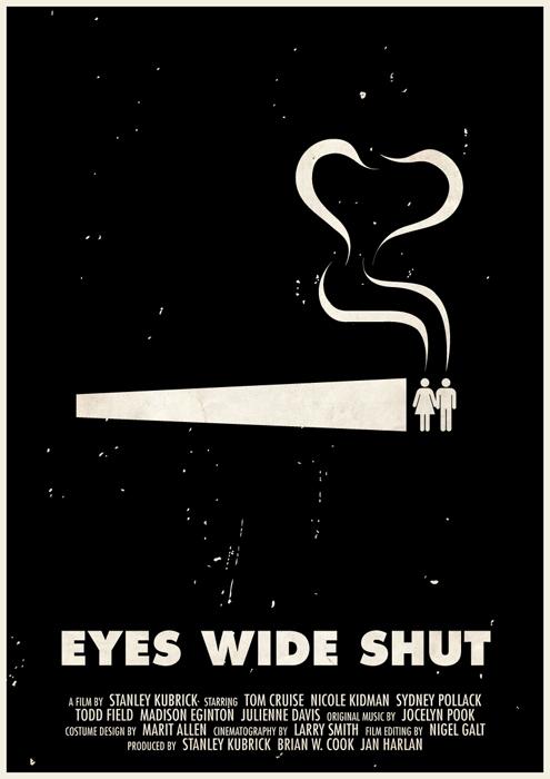 stanley kubrick affiche icone 11 Affiches des films de Stanley Kubrick en pictogrammes