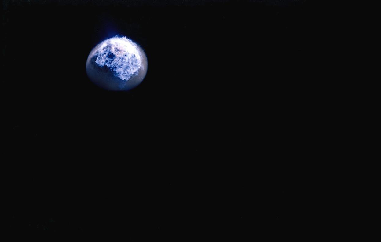 une explosion nucl233aire vue de lespace