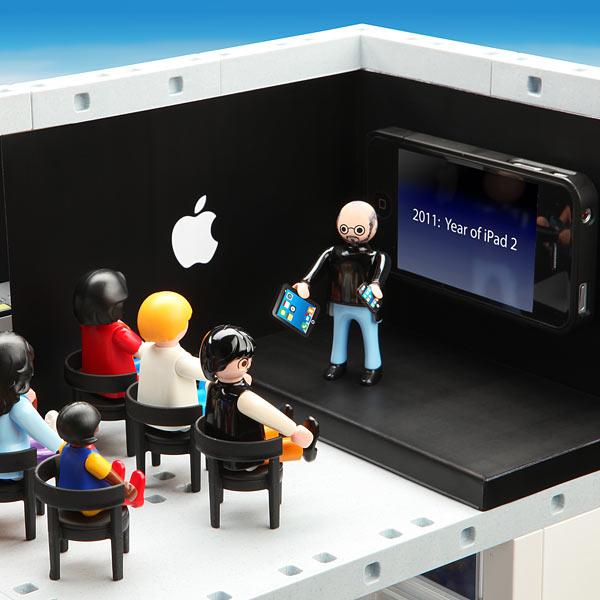 Apple store playmobil for Jouetstore
