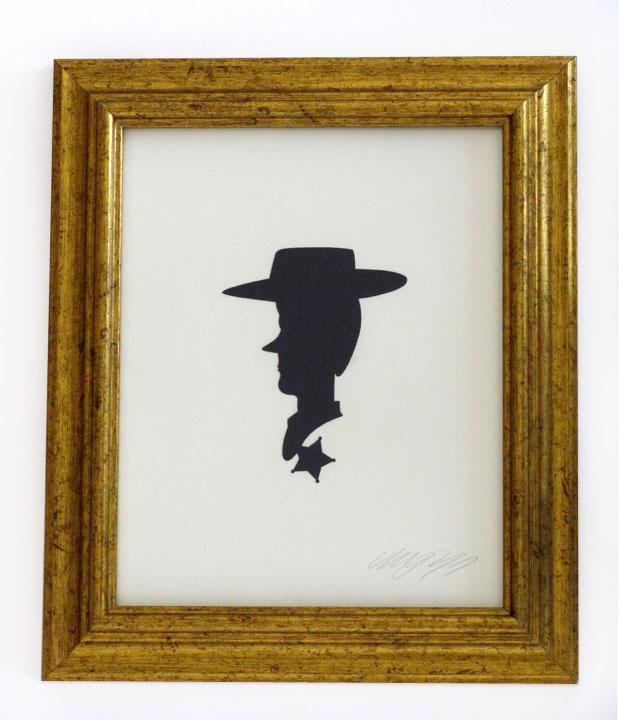 silhouette personnage celebre papier 02 Silhouettes de figures populaires en papier