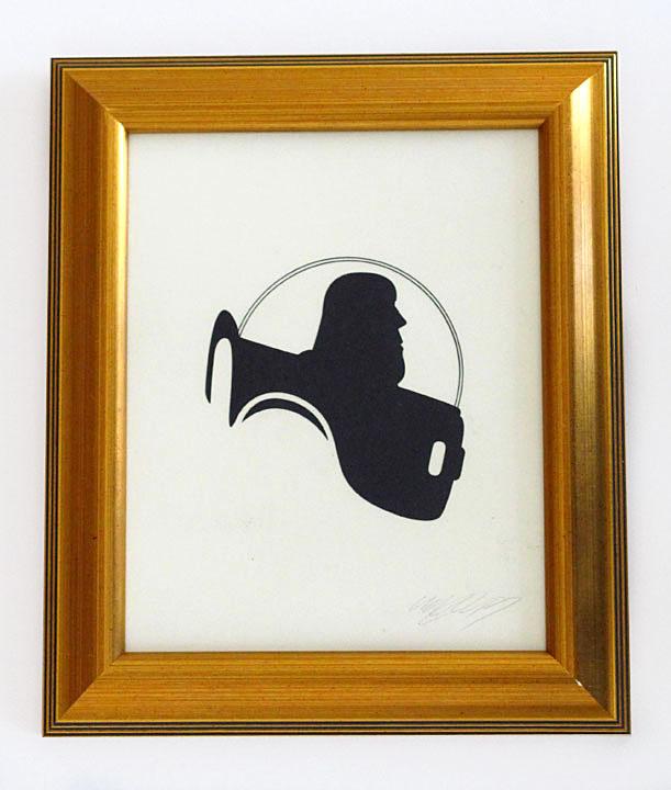 silhouette personnage celebre papier 03 Silhouettes de figures populaires en papier