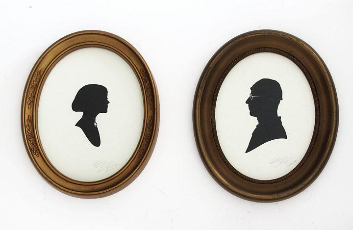 silhouette personnage celebre papier 04 Silhouettes de figures populaires en papier