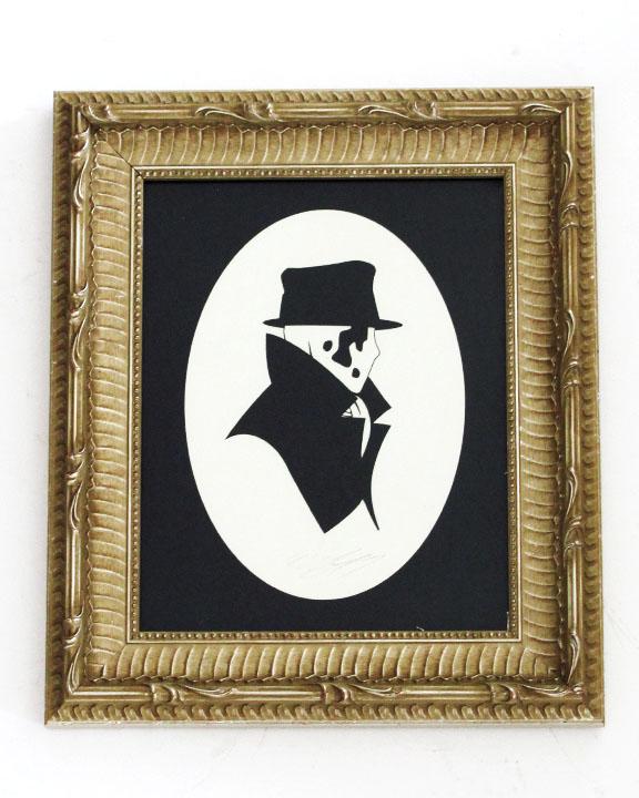 silhouette personnage celebre papier 05 Silhouettes de figures populaires en papier