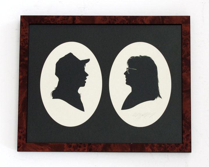 silhouette personnage celebre papier 06 Silhouettes de figures populaires en papier