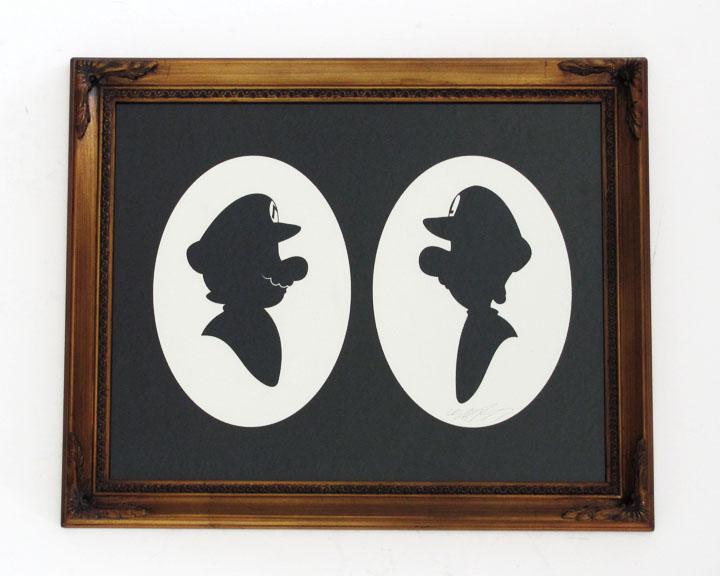 silhouette personnage celebre papier 07 Silhouettes de figures populaires en papier