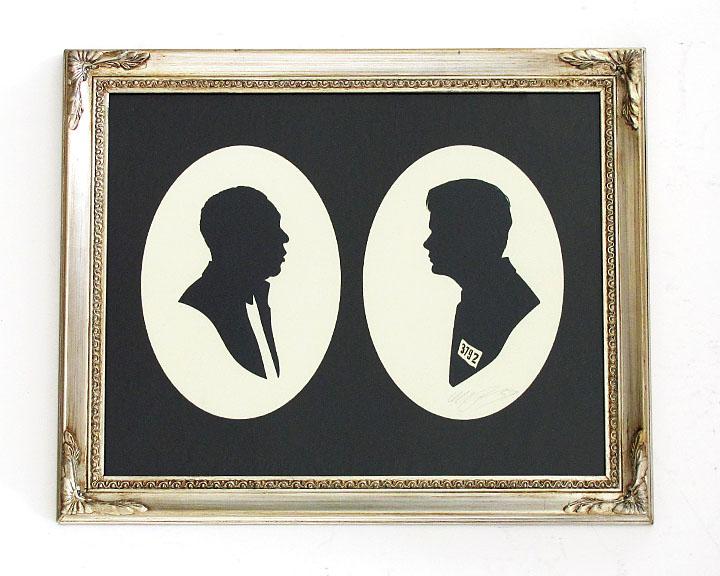 silhouette personnage celebre papier 08 Silhouettes de figures populaires en papier