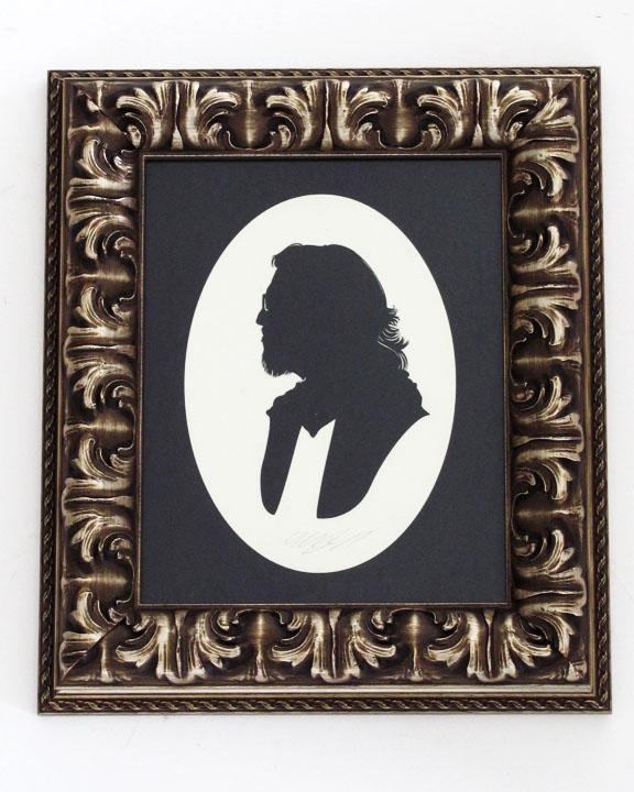 silhouette personnage celebre papier 11 Silhouettes de figures populaires en papier
