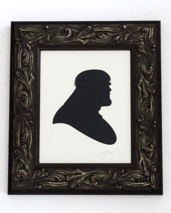 silhouette personnage celebre papier 12 Silhouettes de figures populaires en papier