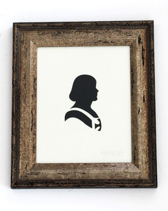 silhouette personnage celebre papier 13 Silhouettes de figures populaires en papier