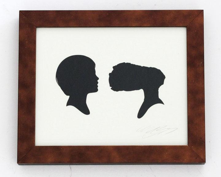 silhouette personnage celebre papier 14 Silhouettes de figures populaires en papier