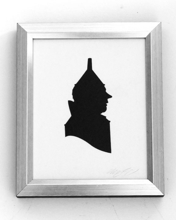 silhouette personnage celebre papier 15 Silhouettes de figures populaires en papier
