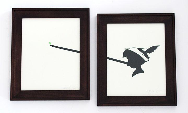 silhouette personnage celebre papier 16 Silhouettes de figures populaires en papier