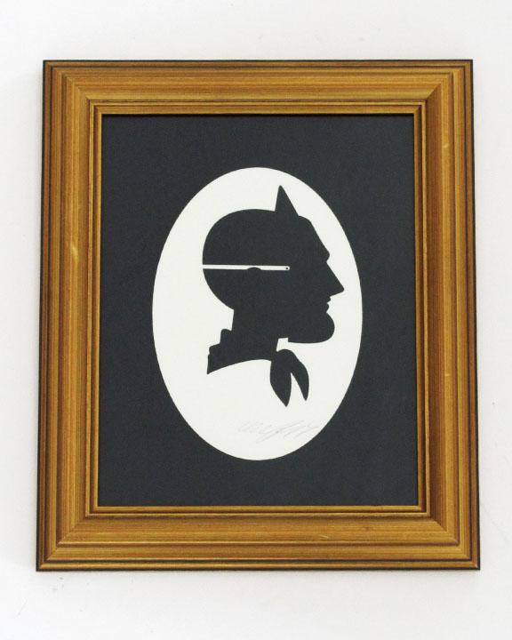 silhouette personnage celebre papier 17 Silhouettes de figures populaires en papier
