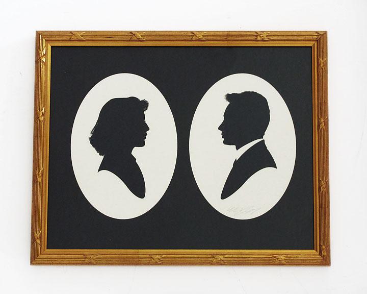 silhouette personnage celebre papier 18 Silhouettes de figures populaires en papier