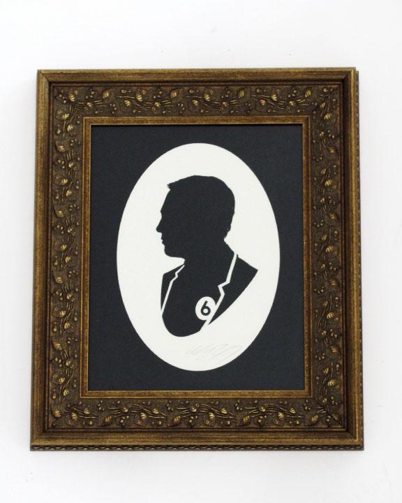 silhouette personnage celebre papier 19 Silhouettes de figures populaires en papier