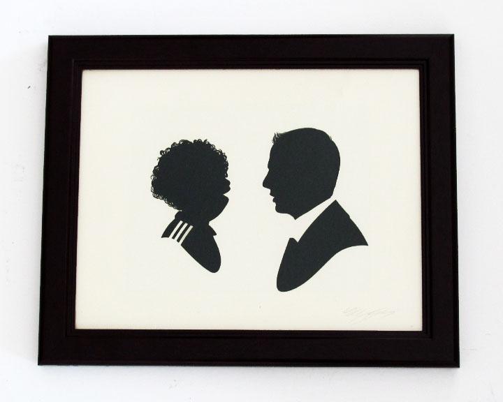 silhouette personnage celebre papier 20 Silhouettes de figures populaires en papier