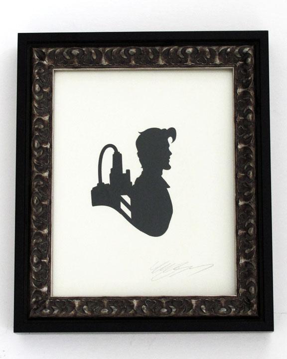 silhouette personnage celebre papier 21 Silhouettes de figures populaires en papier