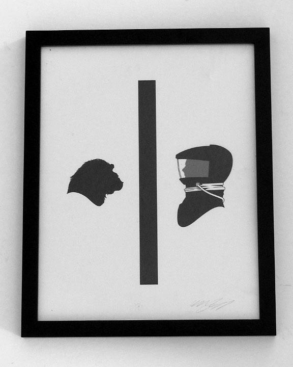silhouette personnage celebre papier 23 Silhouettes de figures populaires en papier