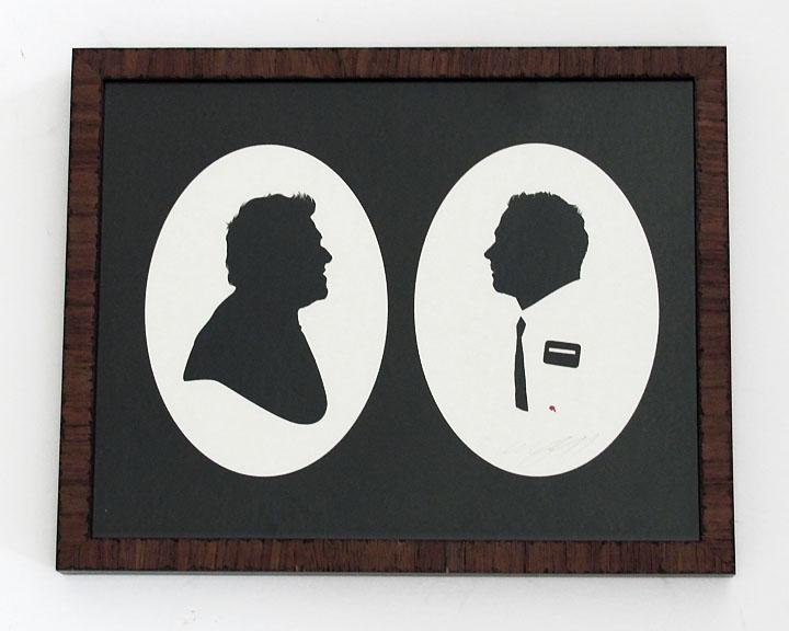 silhouette personnage celebre papier 24 Silhouettes de figures populaires en papier