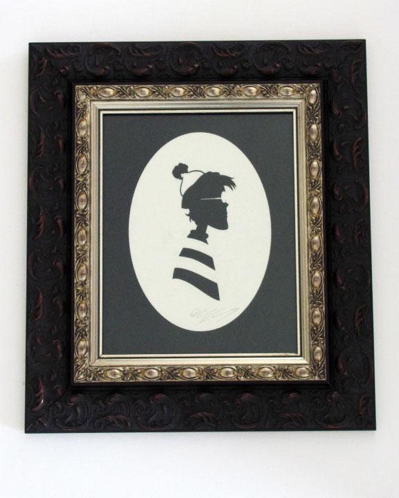 silhouette personnage celebre papier 25 Silhouettes de figures populaires en papier