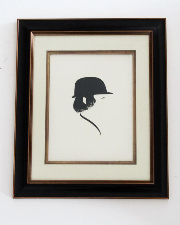 silhouette personnage celebre papier 27 Silhouettes de figures populaires en papier
