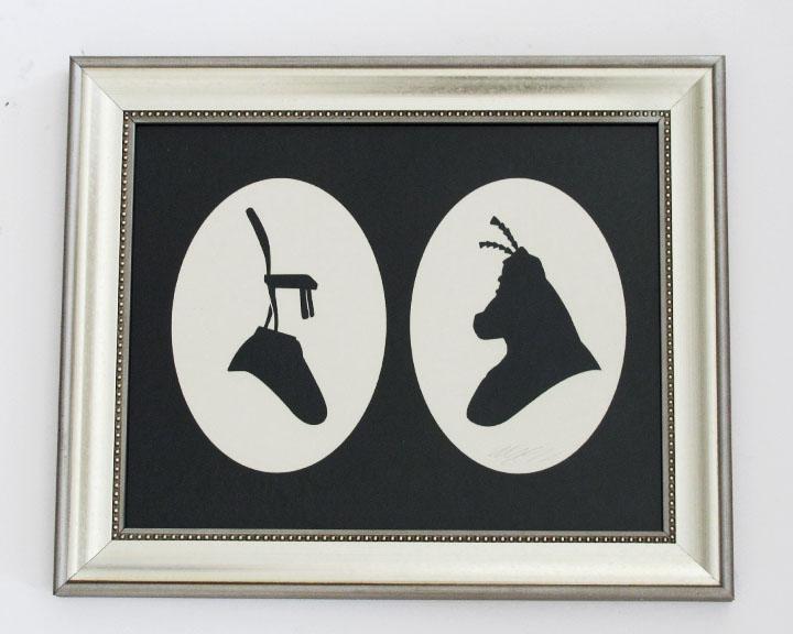 silhouette personnage celebre papier 28 Silhouettes de figures populaires en papier