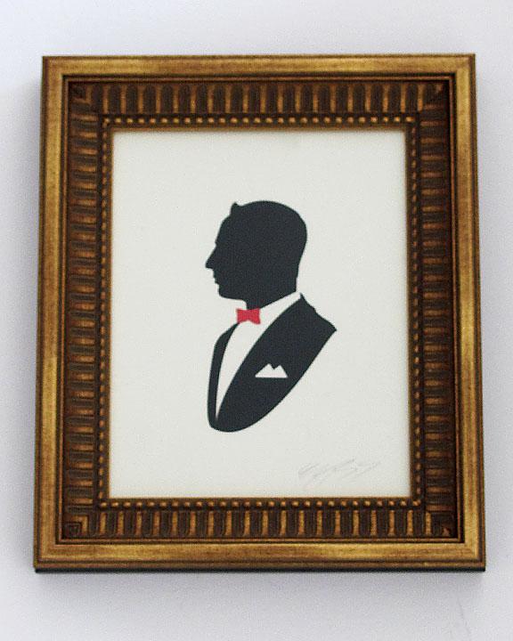 silhouette personnage celebre papier 33 Silhouettes de figures populaires en papier