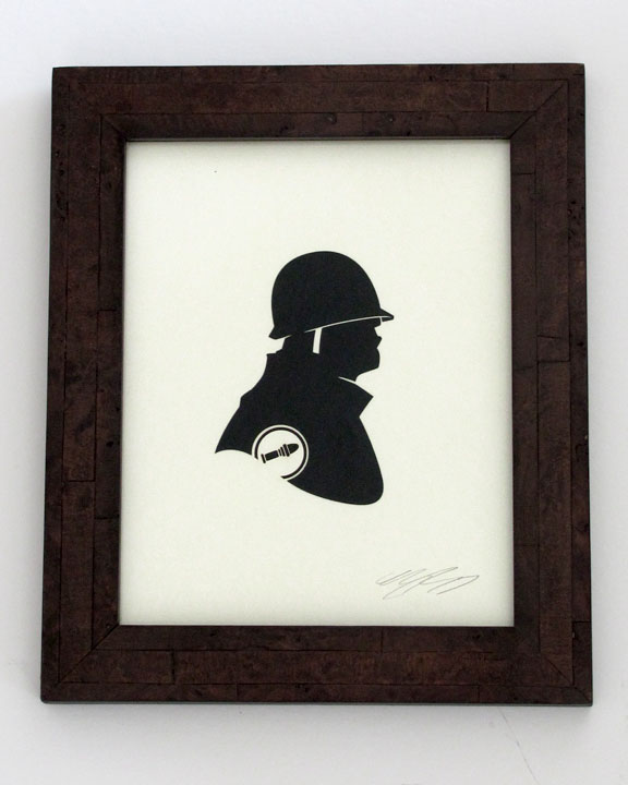 silhouette personnage celebre papier 35 Silhouettes de figures populaires en papier