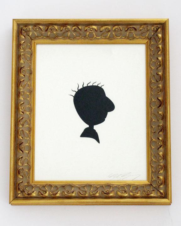 silhouette personnage celebre papier 36 Silhouettes de figures populaires en papier