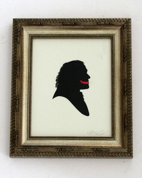 silhouette personnage celebre papier 38 Silhouettes de figures populaires en papier