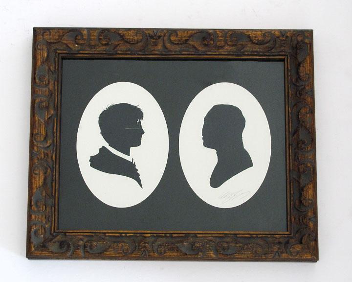silhouette personnage celebre papier 41 Silhouettes de figures populaires en papier