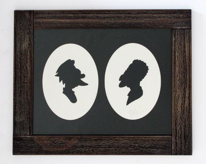 silhouette personnage celebre papier 42 Silhouettes de figures populaires en papier