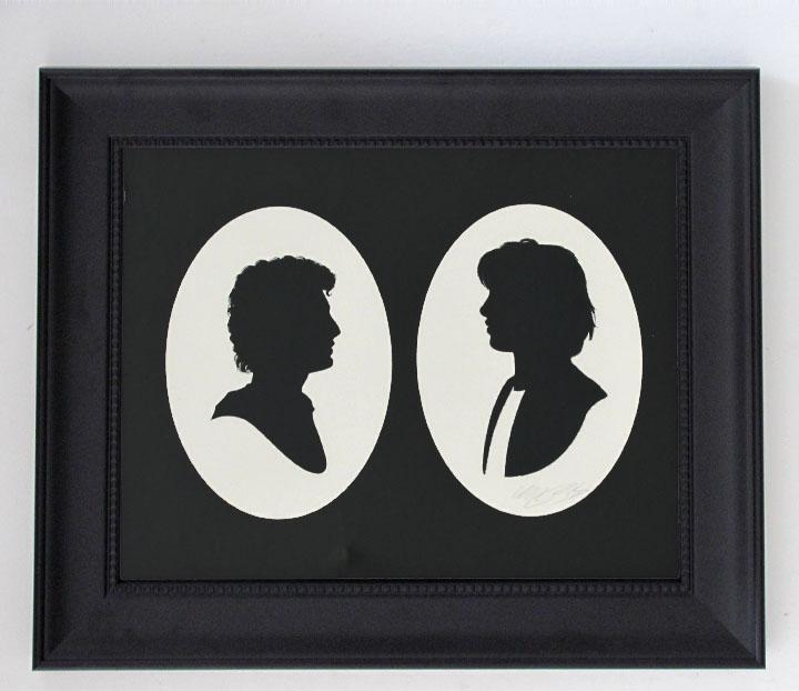 silhouette personnage celebre papier 43 Silhouettes de figures populaires en papier