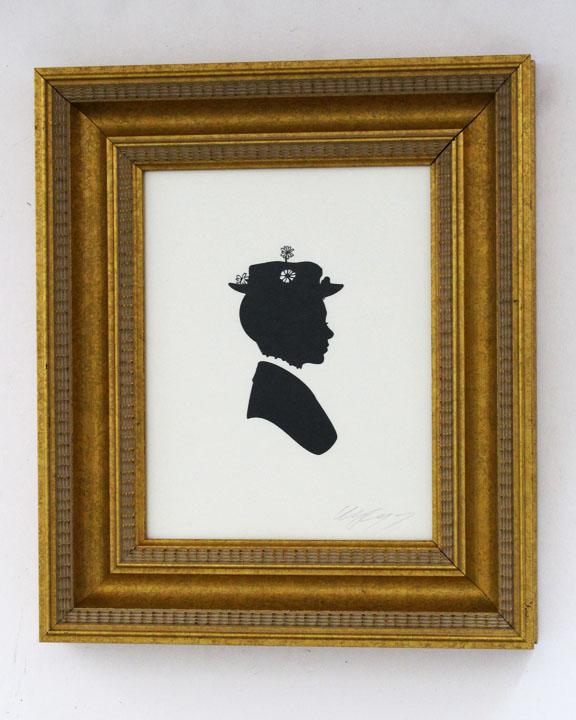 silhouette personnage celebre papier 44 Silhouettes de figures populaires en papier