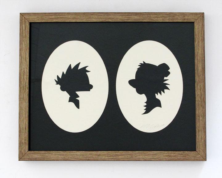 silhouette personnage celebre papier 45 Silhouettes de figures populaires en papier