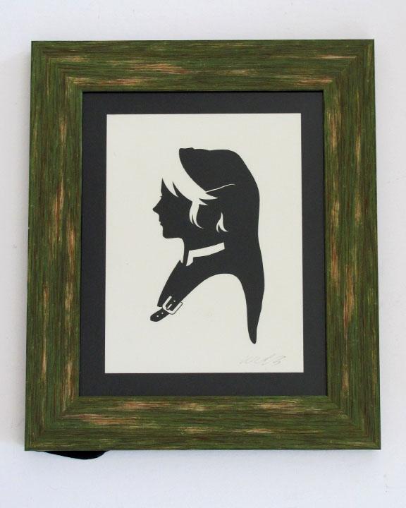 silhouette personnage celebre papier 46 Silhouettes de figures populaires en papier