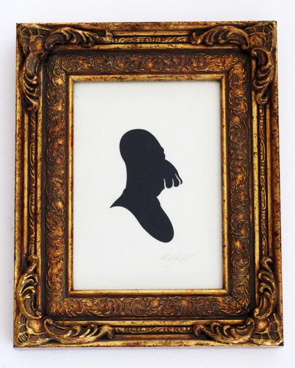 silhouette personnage celebre papier 48 Silhouettes de figures populaires en papier