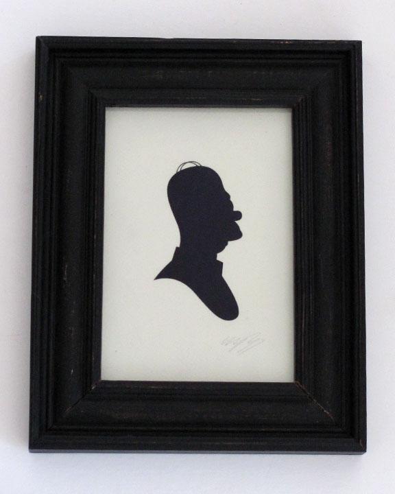 silhouette personnage celebre papier 49 Silhouettes de figures populaires en papier