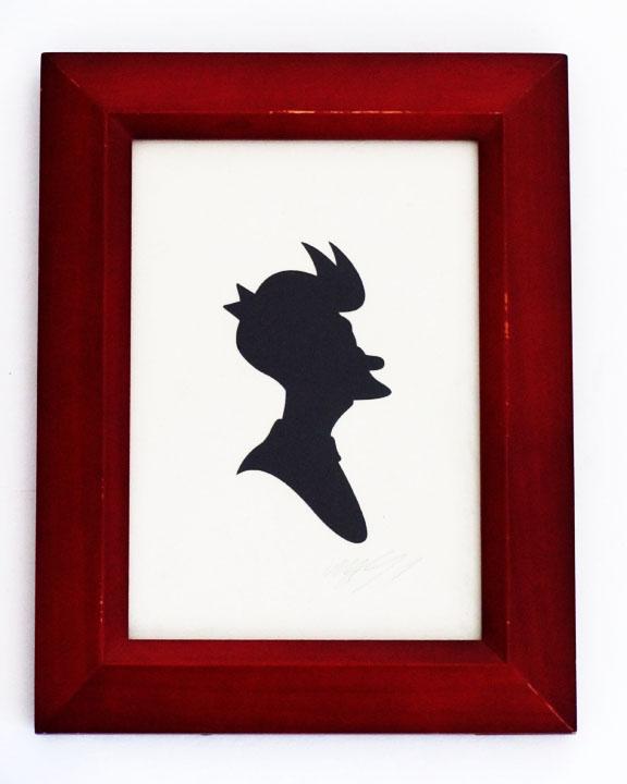 silhouette personnage celebre papier 50 Silhouettes de figures populaires en papier