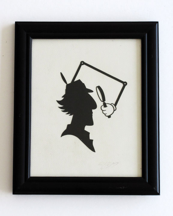 silhouette personnage celebre papier 55 Silhouettes de figures populaires en papier