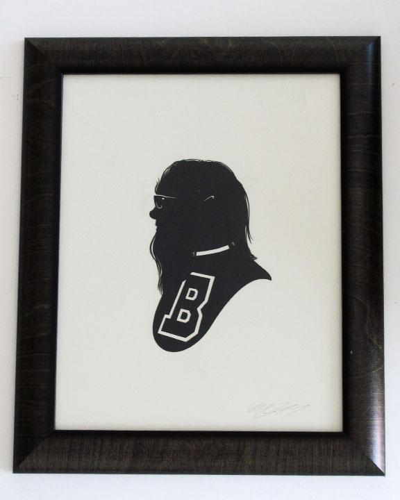 silhouette personnage celebre papier 56 Silhouettes de figures populaires en papier