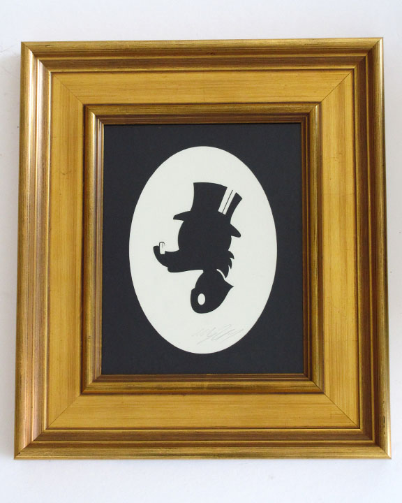 silhouette personnage celebre papier 57 Silhouettes de figures populaires en papier