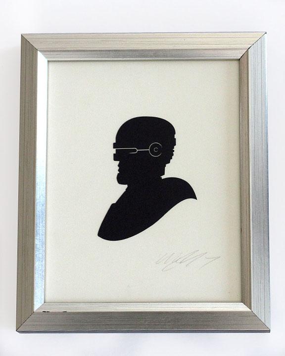 silhouette personnage celebre papier 60 Silhouettes de figures populaires en papier