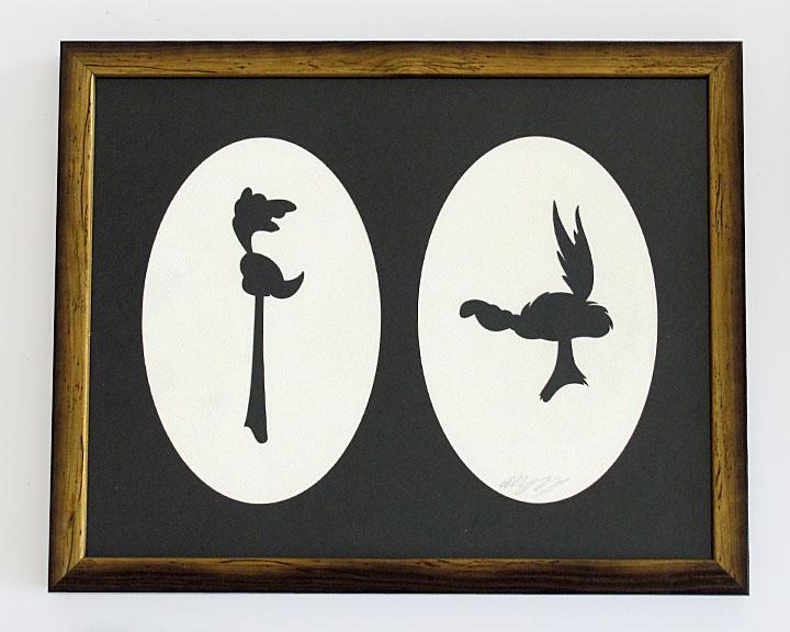 silhouette personnage celebre papier 61 Silhouettes de figures populaires en papier