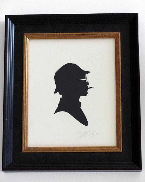 silhouette personnage celebre papier 62 Silhouettes de figures populaires en papier