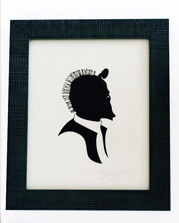 silhouette personnage celebre papier 63 Silhouettes de figures populaires en papier