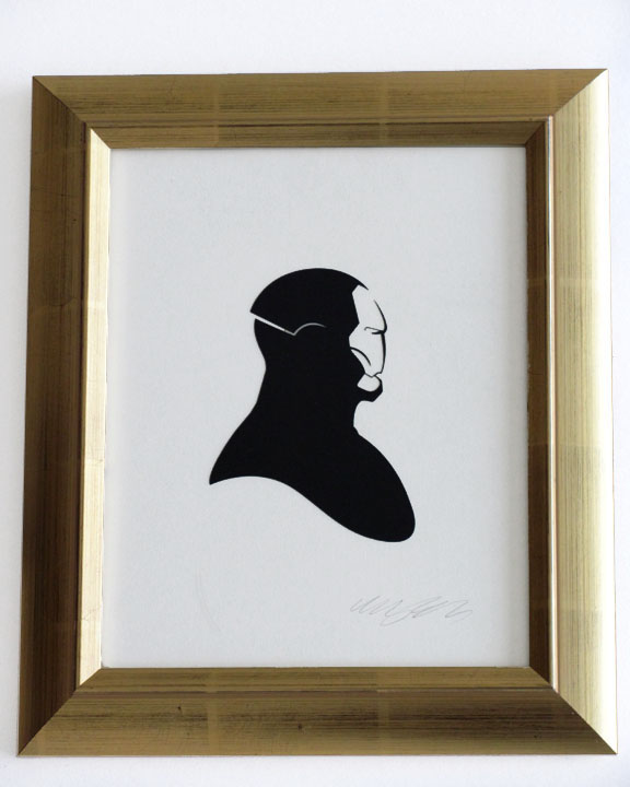 silhouette personnage celebre papier 64 Silhouettes de figures populaires en papier